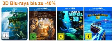 Neue DVD- & Blu-ray-Schnäppchen bei Amazon - z.B. 3 Blu-rays für 25 €