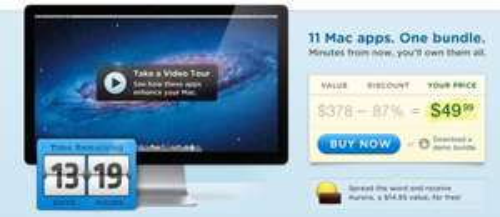 MacUpdate Spring 2012 Bundle - 11 Mac-Apps für 39 €