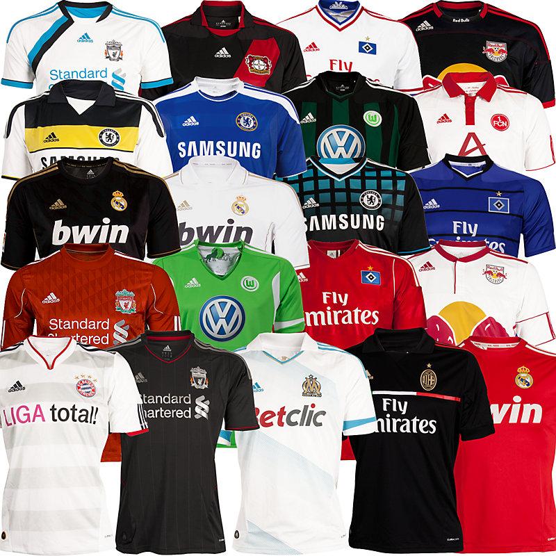 Adidas Fussballtrikots Saison 2011/12 (Bayern München, Liverpool, Real Madrid,...) für 32 Euro *Update*