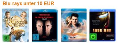 DVD- & Blu-ray-Schnäppchen bei Amazon – z.B. 2 Blu-rays für 15 €