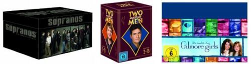 Günstige DVD-Boxen bei Amazon - z.B. Sopranos-Mafiabox für 53 €