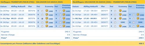 Flugschnäppchen: Condor Eintagsfliegen ab 49 € und Germanwings-Tickets ab 30 €