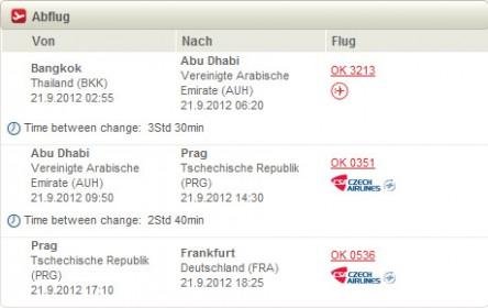 Error Fare: Business Class-Flüge von Bangkok nach Deutschland ab 128 €