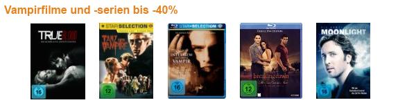 DVD- und Blu-ray-Aktionen bei Amazon - z.B. Filme für die ganze Familie 40% günstiger