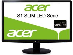 "Acer S231 HLBID - 23"" LED-Backlight-Monitor + Microsoft-Webcam für 115 €"