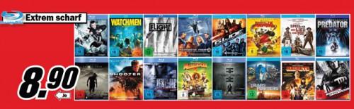 DVD- und Blu-ray-Angebote bei Media Markt - und Konter von Amazon