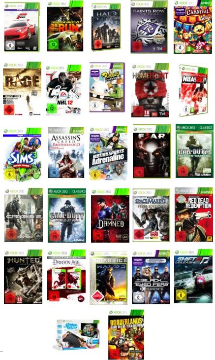 3 Games für 49 Euro bei Amazon! Saints Row, Forza 4 uvm.