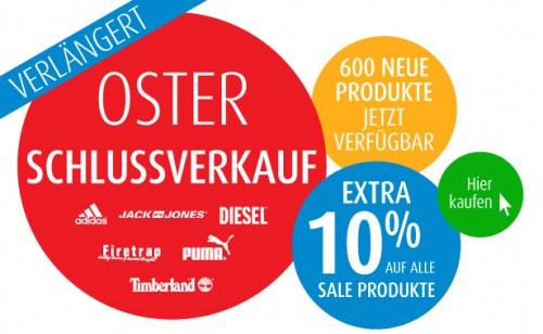 Osteraktion bei MandMDirect mit 10% auf Sale-Produkte + zusätzlich 10% Gutschein