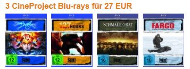 Neue DVD- und Blu-ray-Aktionen bei Amazon: z.B. Blu-rays ab 7,97 €