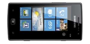 Windows Phone Samsung Omnia W i8350 für 225 € bei Redcoon