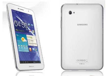 Samsung Galaxy Tab 7.0 Plus N (weiß, 16 GB, UMTS) für 336 € statt 384 €