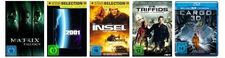 DVD- und Blu-ray-Angebote: z.B. Kultfilme & Science Fiction bis zu 40% günstiger