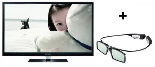 """Samsung PS51D550 (51"""", 3D-Plasma, Full-HD) + 3D-Brille für 650 €"""