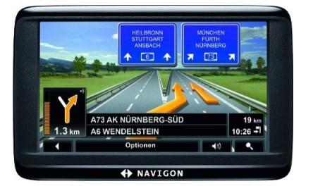 Navigationssystem Navigon 40 Easy für 70 € bei Toom - 34% Ersparnis