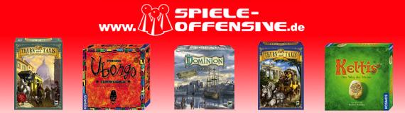Günstige Brett- & Gesellschaftsspiele bei Spiele Offensive - mit Gutscheincode