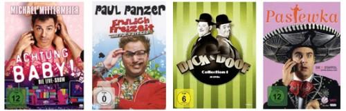 Neue DVD- und Blu-ray-Aktionen bei Amazon - z.B. Blu-rays für 6,97 €