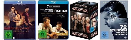 3 Tage Filmschnäppchen bei Amazon: Blu-rays ab 6,97 €