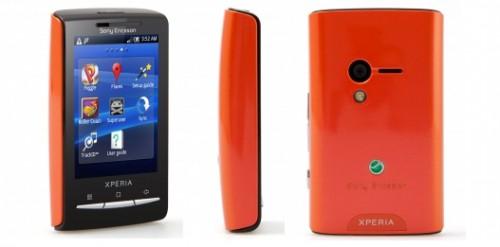 Sony Ericsson Xperia X10 Mini - Einsteiger-Smartphone für 65 € statt 90 €