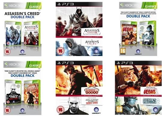 Games im Doppelpack für 16,49 € bei Play.com