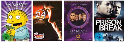 Neue DVD- und Blu-ray-Angebote bei Amazon - z.B.  5 Filme für 18 €