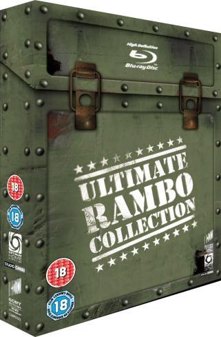 Rambo 1/2/3/4 Blu-ray Box für ~22€ mit dt. Ton und mehr...