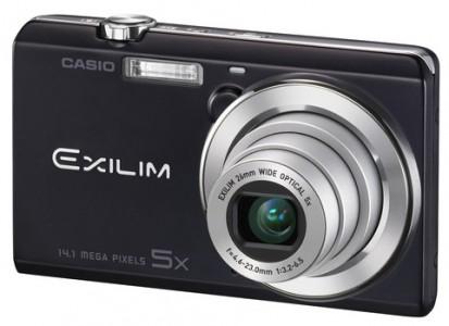 Casio Exilim EX-ZS15 (14,1 MP und 5x opt. Zoom) für 59 € - 29% Ersparnis