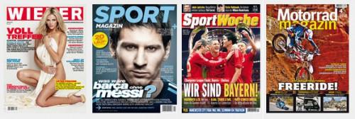 Zeitschriften-Jahresabos mit 50% Rabatt - z.B. Wiener für 14 € oder Sportaktiv für 7,95 €