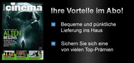 """Jahresabo der Kinozeitschrift """"Cinema"""" für effektiv für 6,80€ - mit Shopping Bon *Update*"""