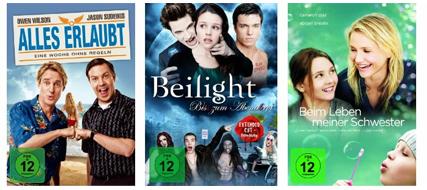 DVD- und Blu-ray-Angebote bei Müller & Konter von Amazon - Blu-rays ab 7,99 €