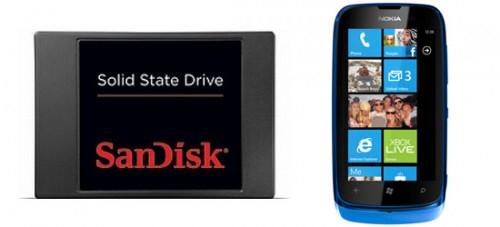 Media Markt: SanDisk SSD mit 64 GB für 49 € & Nokia Lumia 610 für 199 €