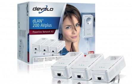 Amazon: 10% Rabatt auf Devolo-Produkte - z.B. dLAN 200 AVplus Network Kit für 100 € statt 126 €