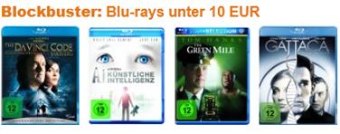 DVD- und Blu-ray-Angebote bei Amazon - z.B. 3 Blu-rays für 27 € oder 5 DVDs für 18 €