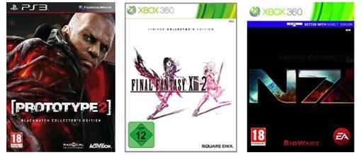 Amazon: Collector's Editions diverser Spiele mit bis zu 20% Rabatt - z.B. Prototype 2 für 60 €