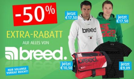 Breed-Sale bei MandMDirect und zusätzlich 20% sparen mit Gutscheincode