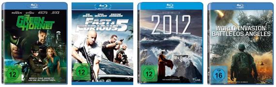 Neue DVD- und Blu-ray-Aktionen bei Amazon - z.B. Blu-ray-Steelbooks unter 10 €