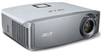 Acer H9500BD - Full HD DLP-Projektor mit 3D für 1111 € - 33% Ersparnis