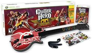 [PS3][X360] Guitar Hero - Aerosmith Bundle für 70€