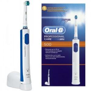Oral-B Professional Care 500 - Elektrische Zahnbürste für 22 € - 19% Ersparnis