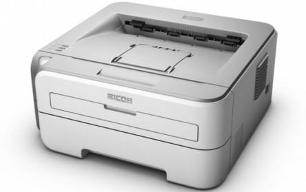 Günstiger S/W-Laserdrucker Ricoh Aficio SP1210N für 39,90 € - 31% Ersparnis