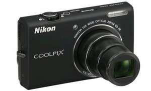 Digitalkamera Nikon Coolpix S6200 (16 MP, 10x opt. Zoom) für 99 € - 14% Ersparnis