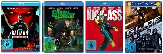 DVD- und Blu-ray-Angebote bei Amazon - z.B. 3 Blu-rays für 27 €