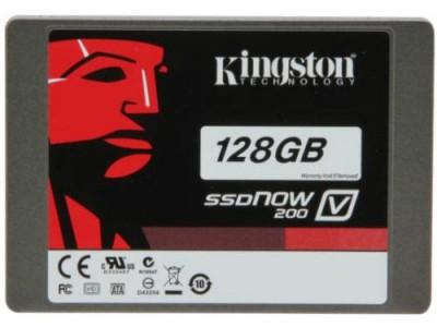SSD-Speicher Kingston SSDNow V200 mit 128 GB für 69,90 € *Update* jetzt für 69,99 €