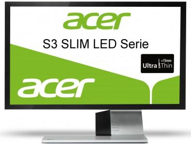 Acer S243 - 24 Zoll LED-Backlight-Monitor mit HDMI für 169 € statt 197 €