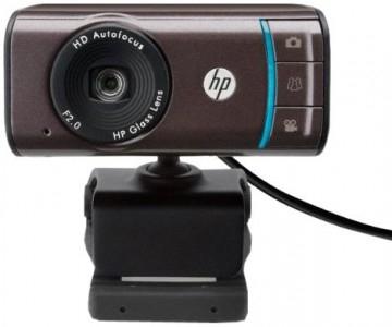 HP-Webcam HD-3110 (720p, Autofokus) für 25,90 € - 20% Ersparnis