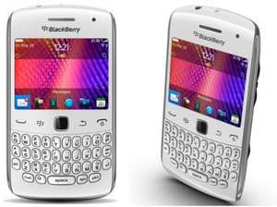 BlackBerry Curve 9360 (weiß) für 202 € - 24% Ersparnis