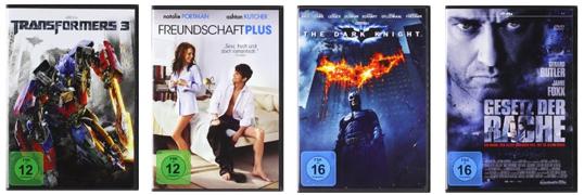 DVD- und Blu-ray-Schnäppchen bei Amazon - z.B. 3 Blu-rays für 25 €