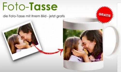 Foto-Tasse von myprinting kostenlos + 4,95 € VSK - nur für Neukunden
