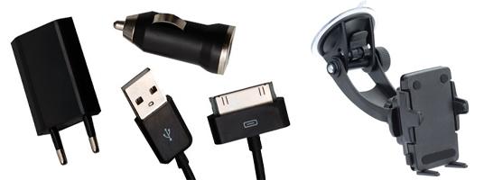 Handyhalterung oder iPhone-Ladegerät komplett kostenlos mit GetMobile.de Gutschein