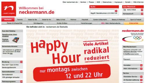 Versandhaus Neckermann stellt Insolvenzantrag