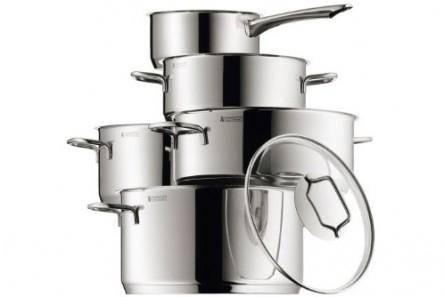 WMF-Kochgeschirr Astoria (5-teilig) für 129,95 € bei Amazon - 37% Ersparnis